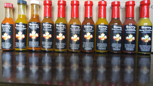 2016 Sorry Sauce batches
